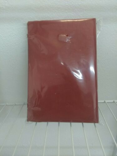 "2pk MADE BY DESIGN Solid Pillow Shams | deep red  | 2 STANDARD | 26L""x20W"" 