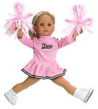 18 Inch Doll Clothes Cheerleader Outfit Set Dre... - $6.92