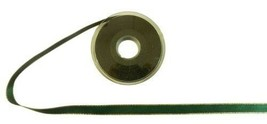 Forest Green Gold Edge Satin Ribbon 15mm 3 Sizes - $5.68+