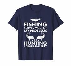 Funny Shirt - Fishing & Hunting Shirt Gifts for Hunters Who Love To Hunt Men - $19.95+