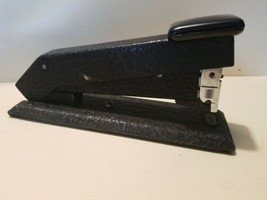 Vintage Bostitch Black Metal Stapler Model B5B Heavy Duty Made In USA  - $14.95