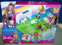 Barbie Chelsea SOCCER Playset New 15+ pcs - $20.67