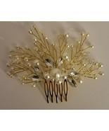 Venusvi Vintage Wedding Hair Combs with Bead and Rhinestones - $10.80