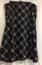 Talbots Outlet Womens Plaid checkered Size 18w ... - $39.99