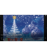 Snowflakes Falling MP4 Video: Moving smp - $5.00