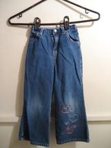 OSHKOSH girls denim jeans size 4t - $11.98