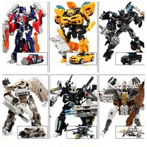 NEW Transformers Action Figures Kids Toys Optimus Prime Bee Robots 2017 - $15.29
