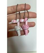 Gloomy Bear Hanyo Usagi All propose Rabbit Set 2 Keychain Gashapon Figure  - $24.16