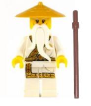 LEGO® Ninjago™ Sensei Wu - Secret World fo the Ninja Figure - $4.94