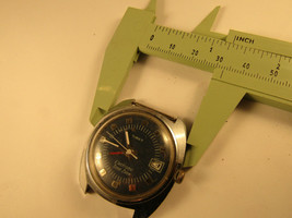 1970'S Blue Dial Electronic Time Zone Timex Date Watch For Repair - $80.00