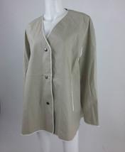 Diesel Black Gold New Women's GIMED Long Sleeve Jacket Size 40 Color Ivory - $102.47
