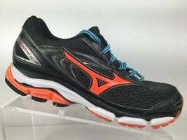 Mizuno Wave Inspire 13  Womens Size 9.5 Running Shoes Black Orange - $37.95