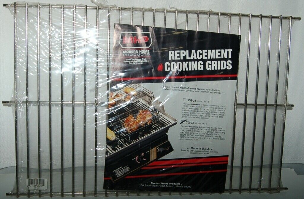 Modern Home Products CG32 Replacement Cooking Grid Nickel Chrome Plated