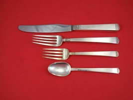 Regency by Lunt Sterling Silver Regular Size Place Setting(s) 4pc Vintage image 1