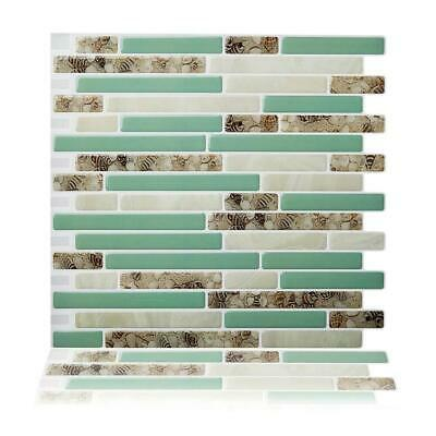 (Ship from USA) Peel and Stick Wall Tiles 10.5'' x 10'' Kitchen Backsplash Tile