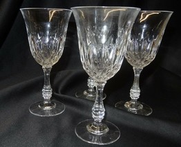 Fostoria Glass Set of 4 Clear Stem Goblets in Original Box Made in USA - $30.00