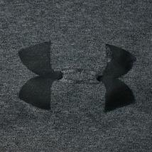 Under Armour Men's Loose HeatGear Dark Gray Notre Dame Logo Athletic Shorts MD image 4