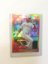 2010 Topps Red Hot Rookie Redemption #RHR7 Dominic Brown - $7.99