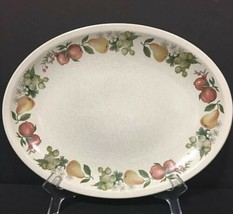 """Wedgwood Quince Oval Serving Platter 11-3/4""""x9"""" Made in England PD19 - $14.99"""