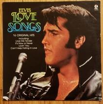 ELVIS PRESLEY - LOVE SONGS LP VINYL RECORD K-TEL #NU9900 1981 NM - $23.75