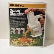 Presto 02910 SaladShooter Electric Food Slicer Shredder - $38.69