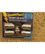"""Thunder Bolt Security Lug Nuts 1/2"""" x 20 Thread Acorn (19902) - $16.78"""