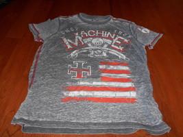 Machine By Surplus Custom Motor Company XXL Gray Speed demon Men's T-Shirt - $18.80