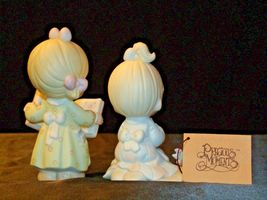 Precious Figurines Moments  731129 and PM922 AA-191839  Vintage Collectible image 5