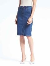 Banana Republic Seamed Denim Pencil Skirt, size 14, NWT - $78.00