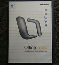Microsoft OFFICE 2004 Student Teacher Edition W/ 3 Product Keys for Mac ... - $14.30
