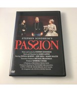 Stephen Sondheim's PASSION (Ultra RARE OOP 2003 AUTHENTIC) Donna Murphy ... - $27.71