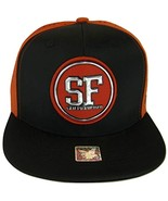 San Francisco Men's Patch Style Breathable Snapback Baseball Cap (Black/... - $13.95