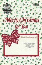 Merry Christmas to You 1985 Gloria & Pat Promo Leaflet Ornaments & More - $4.99