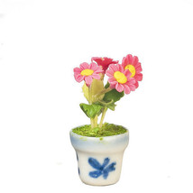 DOLLHOUSE MINIATURES MUM IN POT #G7579 - $9.50