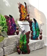 Nature's Conservatory Decorative Butterfly Design LED Lighted Decor - $33.90