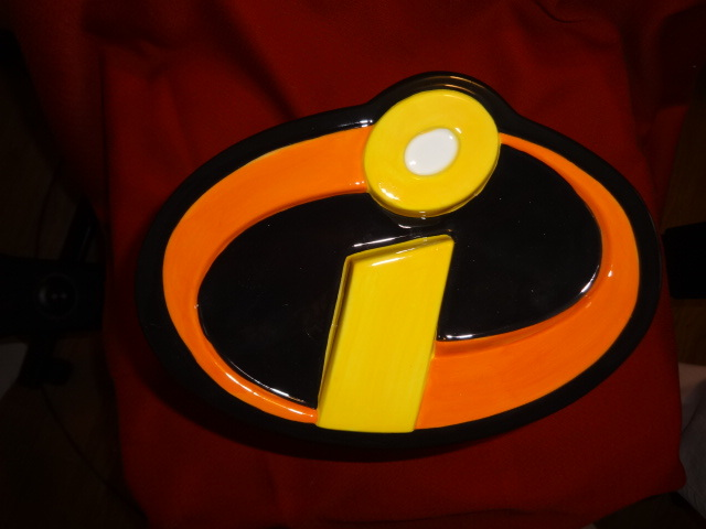 Walt Disney Pixar INCREDIBLES CERAMIC COOKIE JAR