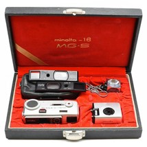 MINOLTA-16 MG-S 16MM MINIATURE CAMERA c.1969-74 - $59.40