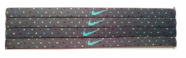 Nike Unisex Running All Sports GRAY POLKA DOTS Sports Design Headband NEW - $6.50