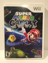 Super Mario Galaxy (Nintendo Wii, 2007) Tested Fast Shipping, COMPLETE - $12.64