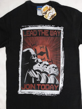 Star Wars Darth Vader Stormtrooper Lead the Way Join Today T-Shirt - $12.00