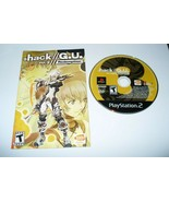 Playstatio​n 2 PS2, Hack//G.U. Vol. 3// Redemption -- Disc and Booklet - $19.68