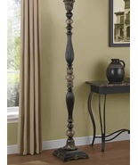 "Portfolio ~ Barada ~ 72"" Tall ~ Bronze w/Gold Highlights ~ Torchiere Flo... - $79.20"