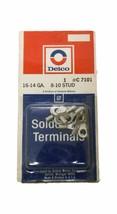 Pack of (10) Delco C7101 16-14 Gauge 8-10 Stud Solderless Terminals - $13.55