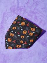 Halloween Pumpkin Pet Bandana, Dog Bandana, Cat Bandana, Happy halloween - $12.60