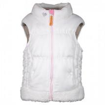 Obermeyer Kids girls Cancan Vest, White, 6 - $78.71
