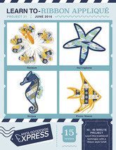 Anita Goodesign Express Learn to Ribbon Applique Embroidery Machine CD (... - $10.39