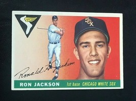 1955 Topps Baseball Card #66 RON JACKSON - Chicago White Sox - $4.90