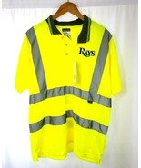 Portwest S477 High Visibility Reflective Shirt Short Sleeved Polo Tampa ... - $23.36