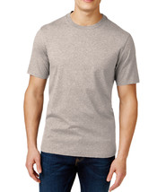 NEW MENS CLUB ROOM CREW NECK SHORT SLEEVE LIGHT GREY T SHIRT TEE 3XL - $9.99