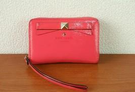 100% Authentic Kate Spade Pink PVC Canvas Mini Purse Bag Cosmetic Bag - $98.00